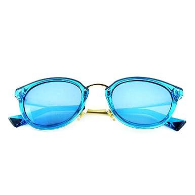 Smileyes Damen Fashion Sonnenbrillen UV400 Retro Vintage Style Unisex #TSGL017 (Blau) GlyaL936gg