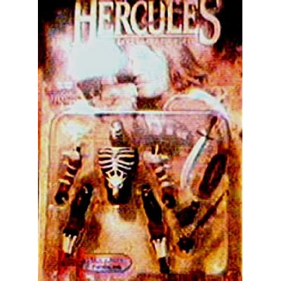 Hercules the Legendary Journeys - Mole-Man Action Figure with Exploding Body: Toys & Games