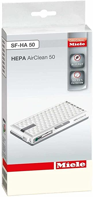 Active HEPA Filter SF-AH 50 for Miele Cat /& Dog 4000