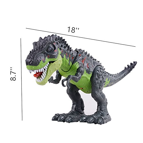 Ovovo Dinosaur Robot Toy for Boys Girls Large Size Walking Dinosaur Toy with Light and Sound, Real Movement. by Ovovo (Image #3)
