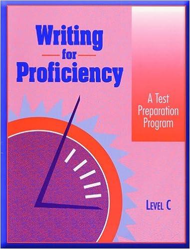 «Writing For Proficiency: Level C»: 978-0835908931 por Globe PDF iBook EPUB