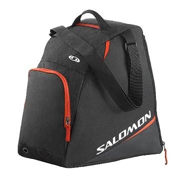 b3f7f114d3 Salomon Unisex Ski 33 Litres Boot Bag - Black Bright Red
