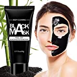 Blackhead Remover Mask Strips Peal off Blackhead Mask Bamboo Activated Charcoal Deep Cleansing Facial Mask for Face and Nose