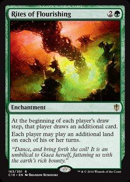 Magic: the Gathering - Rites of Flourishing (163/351) - Commander 2016