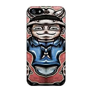 Iphone 5/5s Case Slim [ultra Fit] Graffiti Protective Case Cover