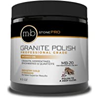 MB Stone Care - MB-20 Granite Polish (8.5 oz. Jar)