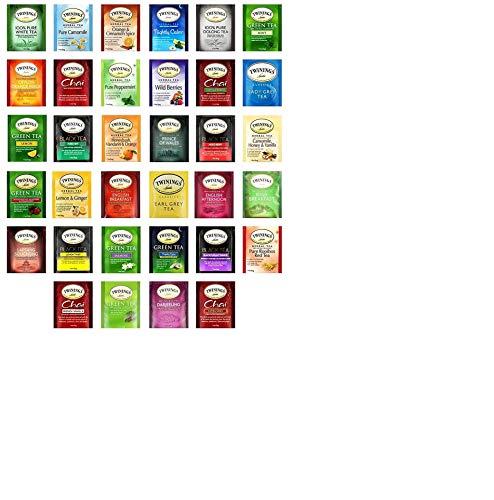 Custom Variety Twinings Tea assortment gift box (102 tea bags)