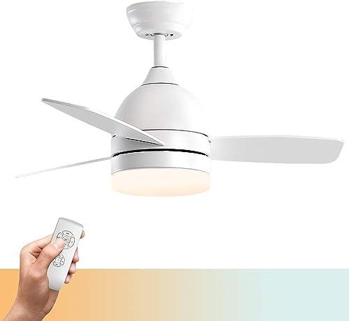 Warmiplanet 48-inch modern indoor ceiling fan