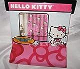 Hello Kitty Allover Fabric Shower Curtain