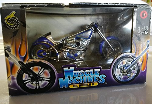 Muscle Machines Jesse James West Coast Choppers El Diablo II by West Coast Choppers (Jesse James West Coast Choppers)