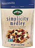 Second Nature Simplicity Medley Trail Mix 14 oz Resealable Pouch - Sodium-Free Blend of Dried Cranberries, Almonds, Cashews, Sunflower Kernels & Blueberries - Non GMO Project Verified, 6 Count