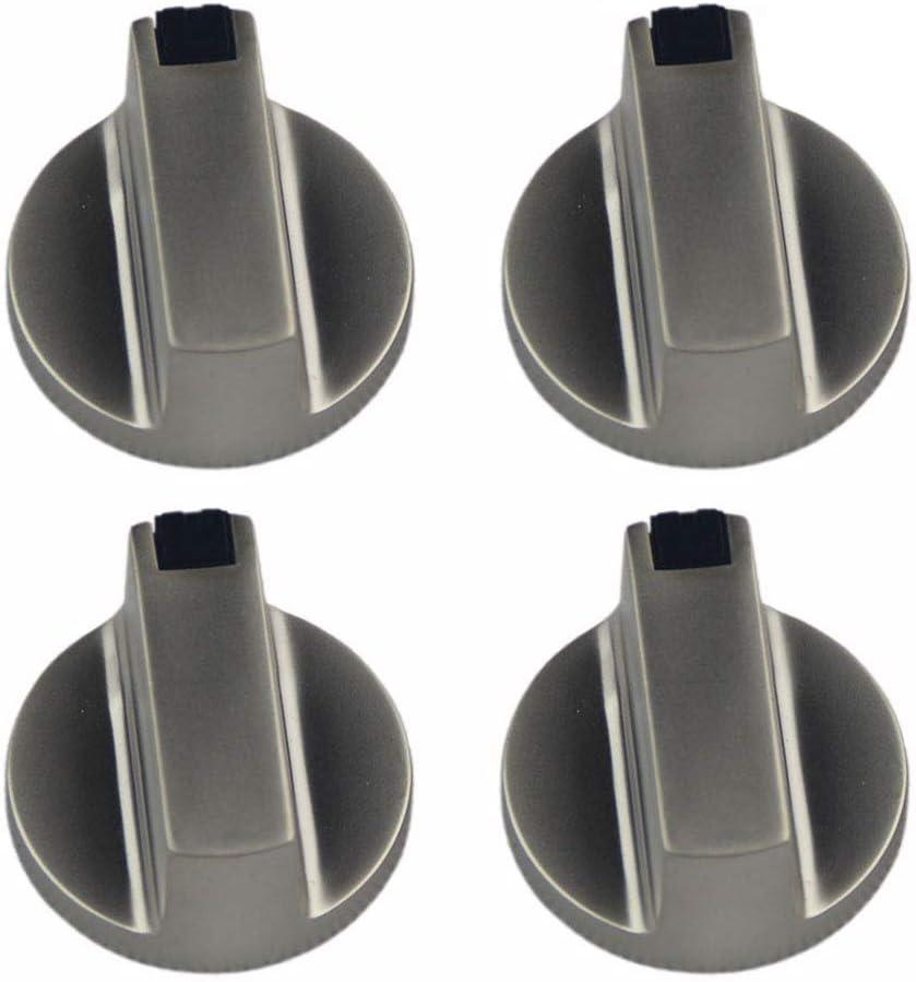 OFKPO 4 Pcs Botones Universal de Interruptor de la Cocina de Gas para Mayoría Las Horno, Cocina, Estufa de Gas,6mm