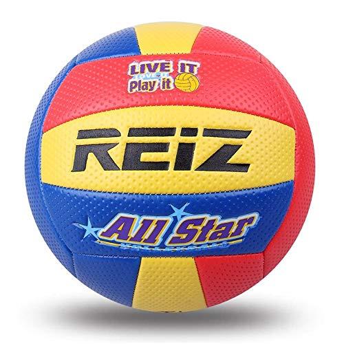 Peanutaoc Bola del Voleibol del Tacto Suave de Cuero de la PU # 5 de Voleibol Bola estándar de la Competencia Exterior Cubierta Formación Bola del Voleibol para los Estudiantes