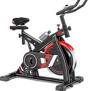 WBaRJ Indoor Cycling Bicicleta Estática Spinning Bike, Sensor de ...