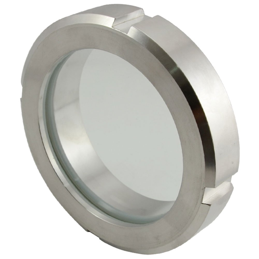 89mm 3-1//2 3.5 Sanitary Sight Glass Stainless Steel SS316 Circular Viewing Edelstahl Rohr Rohrverbinder
