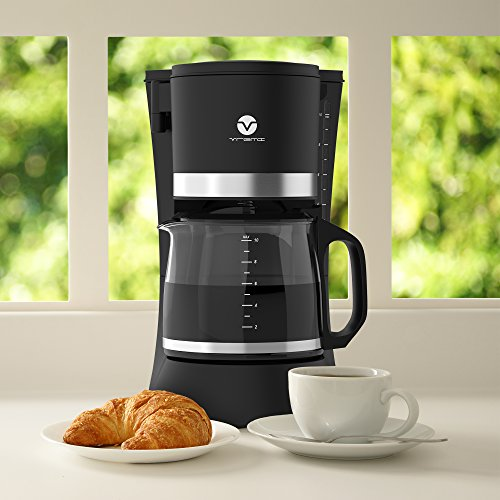 Drip Coffee Maker Hot Water : Vremi 10 Cup Coffee Maker - Automatic Hot Water Coffee Maker with Anti Drip Function - Small ...