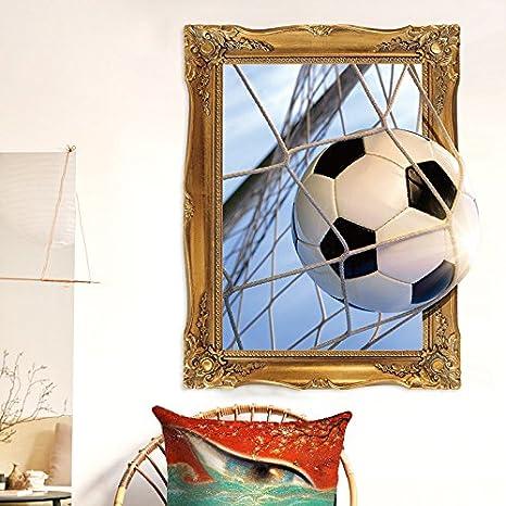 Fussball Ziel Wandaufkleber Kinderzimmer Junge Schlafzimmer
