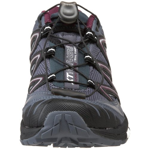 Salomon Women's XT Wings 2 W Trail Running Shoe,Grey Blue