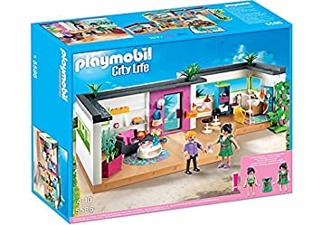 Playmobil 5586 City Life Luxury Mansion Guest Suite: Amazon.co.uk ...
