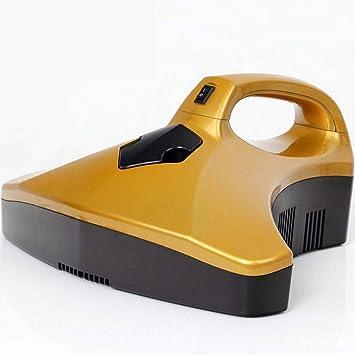 Limpiador inalámbrico de mano Aspiradora de mano Esterilización ultravioleta, succión doble y poderosa Elimina los ácaros Controlador de ácaros del polvo, ...