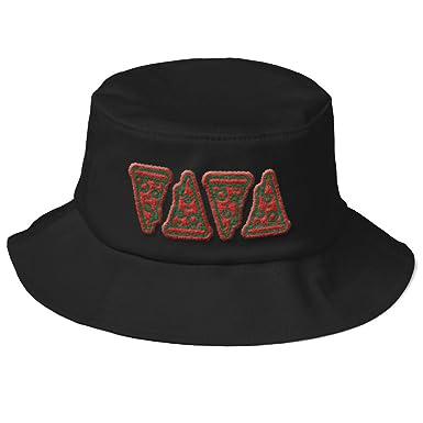 Ice Cream Cartoon Cones Outdoor Flexfit 5003 Bucket Hat at Amazon Men s  Clothing store  8b654ece25f