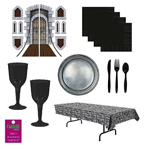 Medieval Party Decorations Tableware Harry Potter Goblets Stonewall