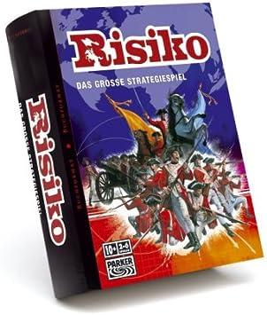 Hasbro - Risk, Edición Libro, Juego de Estrategia (versión en alemán): Amazon.es: Juguetes y juegos