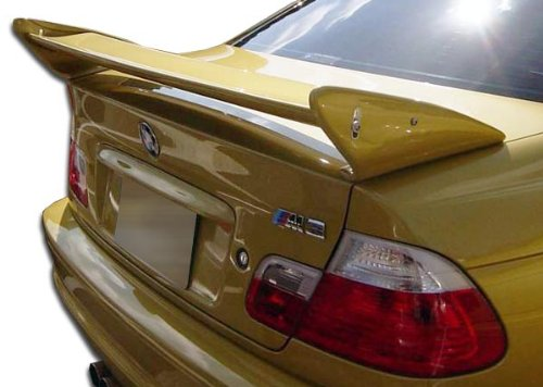 (Duraflex Replacement for 1999-2006 BMW 3 Series M3 E46 2DR GTR Wing Trunk Lid Spoiler - 1 Piece)