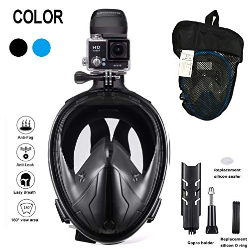 Full Face Snorkel Mask – 180° Panoramic Unde...