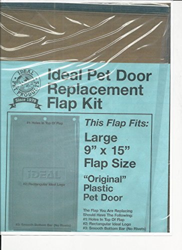 Ideal Pet Products Large Replacement Flap RFLO (Replacement Patio Ideal Door Pet Flap)