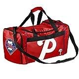 MLB Philadelphia Phillies Core Duffle Bag, Red