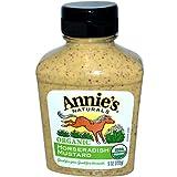Annie'S Naturals Organic Horseradish Mustard 9 OZ(Pack of 4)