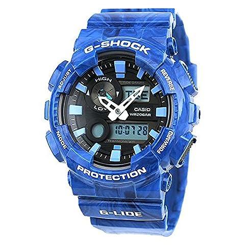 Casio G-Shock NEW! GAX-100MA-2A G-Lide Blue Watch (Blue G Shock Men)
