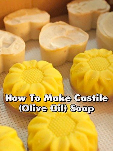 How To Make Castile (Olive Oil) Soap (Care Olive)