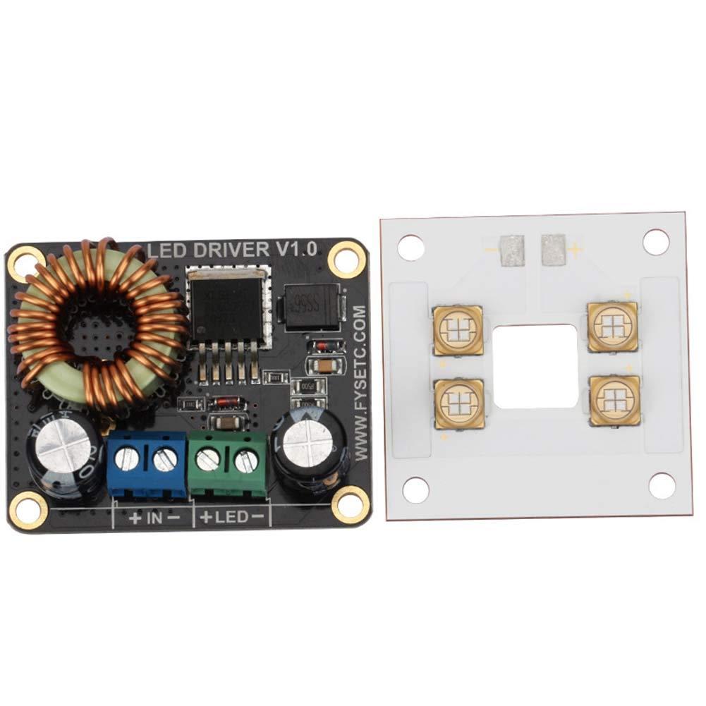 Huhuswwbin - Piezas y accesorios para impresora 3D (30 W, LED ...