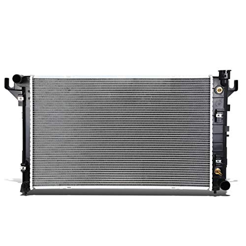 DNA Motoring OEM-RA-1552 1552 Aluminum Radiator [for 94-02 Dodge Ram/Ramcharger at] 01 Dodge Ram Radiator