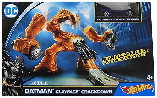 Batman Track - Hot Wheels DC Comics Batman Zipline Launcher Track Set Vehicle