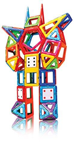 51SOE6veWgL - Magformers Smart Set (144-piece ), Deluxe Building Set. magnetic building blocks, educational magnetic tiles, magnetic building STEM toy set