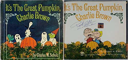 Peter Robbins Signed It's The Great Pumpkin Charlie Brown OC Dugout Exclusive C