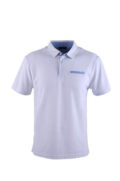 0117Voray Ga Polo Hombre algodón Granito Detalles Oxford y ...