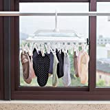 Annaklin Foldable Clip Hangers with 26 Drying