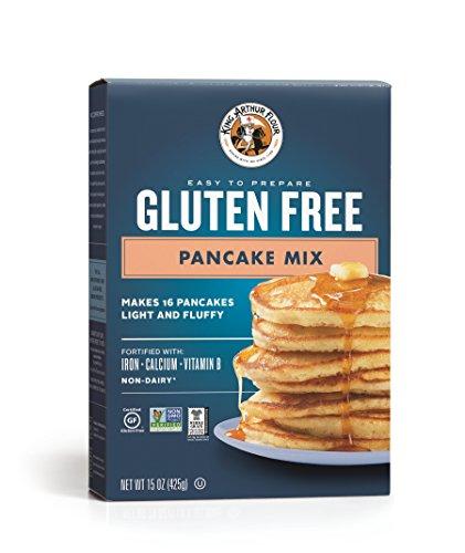 - King Arthur Flour, Pancake Mix, Gluten Free, 15 Ounce