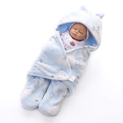 AZUO Neonatal Bebé Envolver Envolver Mantas Pierna Partida Saco De Dormir Bebé Artículos (Rosa)