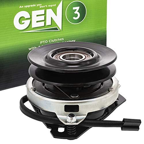 8TEN Gen 3 Electric PTO Clutch for John Deere 240 245 GT242 AM119536 5215-44 AM119536 AM103035 AM108601 AM115093