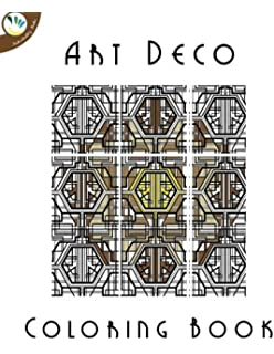 Art Deco Coloring Book For Adults Super Relaxing Books