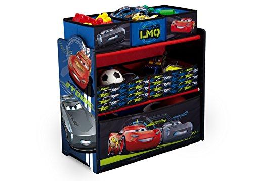 Organizador De Juguetes Multi-compartimiento Pixar Cars