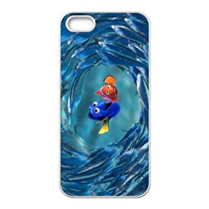 FOR Apple Iphone 5 5S Cases -(DXJ PHONE CASE)-Finding Nemo - Keep Smile-PATTERN 4