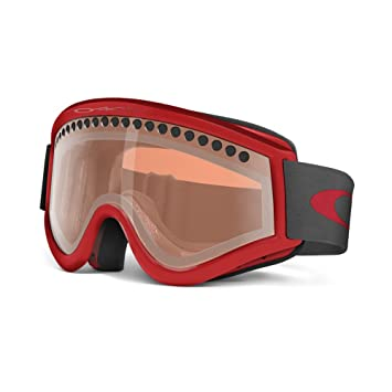 red oakley goggles  Amazon.com : Oakley E-Frame Snow Goggles, Snow Viper Red with ...