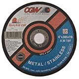 "CGW ABRASIVES 6"" X .045 X 7/8"" T27 Cutoff Wheel"