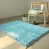 HOMEE Chenille Mats Living Room Coffee Table Bedroom Bedside Kitchen Door,L,160X200Cm(63X79Inch)